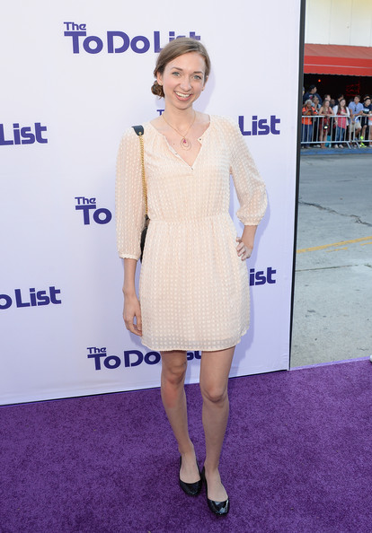 Lauren Lapkus Day Dress