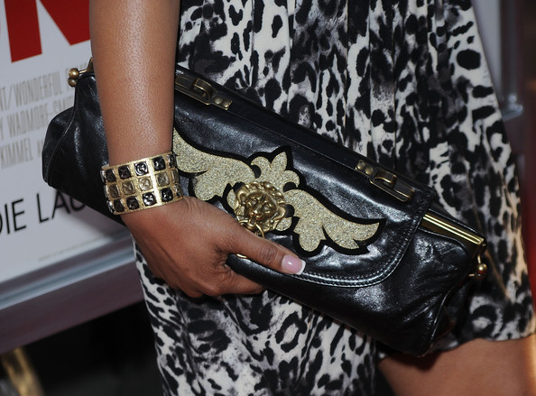 Lauren Velez Buckled Clutch