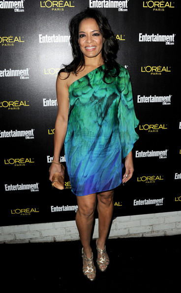 Lauren Velez Print Dress