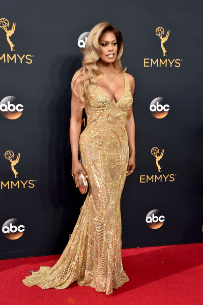 Laverne Cox Fishtail Dress