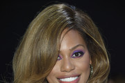 Laverne Cox Feathered Flip