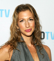 Alysia Reiner attended the 'Laverne Cox Presents: The T Word' screening wearing her hair in a casual wavy style.