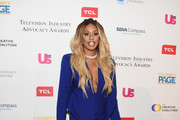 Laverne Cox Skirt Suit