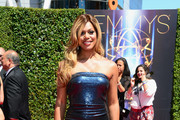Laverne Cox Strapless Dress