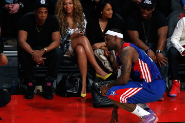 LeBron James Jay-Z NBA All-Star Game 2013