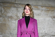 Lea Seydoux Evening Coat