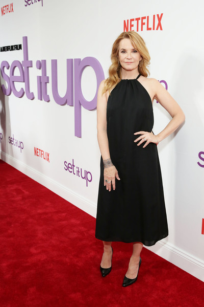 Lea Thompson Halter Dress