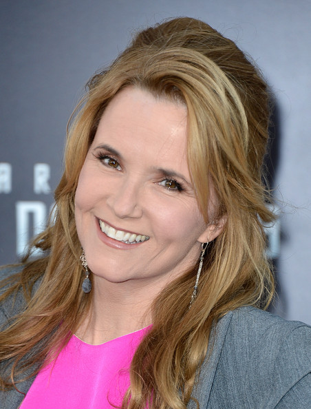Lea Thompson Nude Lipstick [star trek into darkness,hair,face,blond,hairstyle,eyebrow,chin,lip,layered hair,beauty,long hair,arrivals,lea thompson,california,hollywood,dolby theatre,paramount pictures,premiere,premiere]