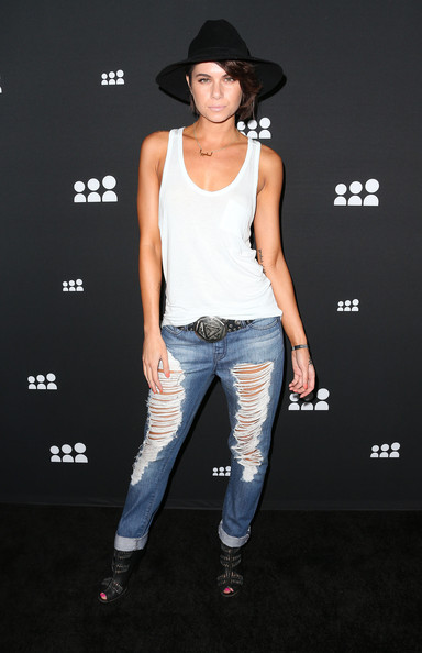 Leah LaBelle Ripped Jeans