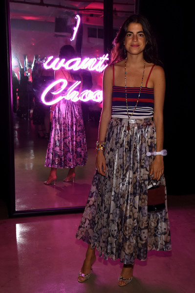 Leandra Medine Full Skirt