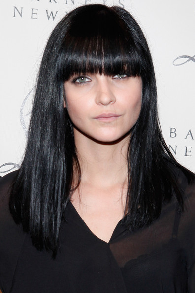 Leigh Lezark Long Straight Cut with Bangs