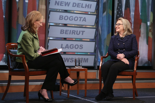 Hillary Clinton Holds Online Global Town Hall With Youths From Around The World
