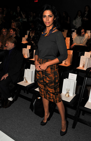 Camila Alves at Lela Rose