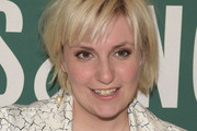 Lena Dunham Short cut with bangs
