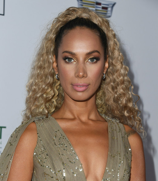 Leona Lewis Ponytail [hair,hairstyle,blond,eyebrow,lip,beauty,long hair,chin,ringlet,human,leona lewis,point foundation honors,los angeles,california,beverly hills,the beverly hilton hotel,point foundation honors los angeles,gala]