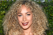 Leona Lewis Medium Curls with Bangs