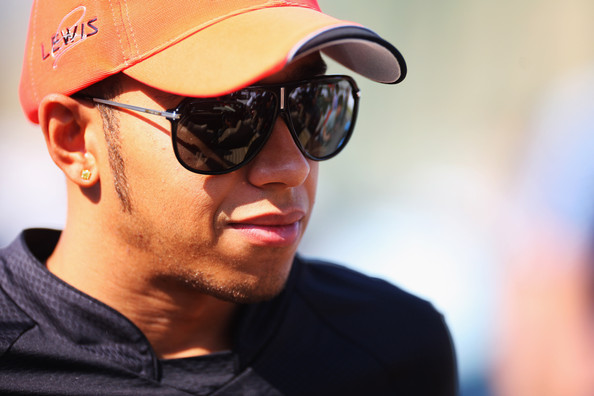 Lewis Hamilton Designer Shield Sunglasses