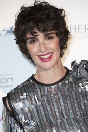 Paz Vega attended the Lifestyle Awards 2018 wearing her hair in mussed-up curls.