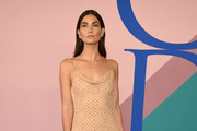 Lily Aldridge Beaded Dress