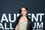 Lily Collins Evening Sandals