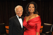 Ralph Lauren and Oprah Winfrey attend an evening with Ralph Lauren hosted by Oprah Winfrey and presented at Lincoln Center on October 24, 2011 in New York City.