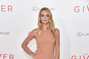 Lindsay Ellingson Halter Dress