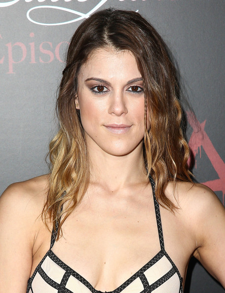 Lindsey Marie Shaw Long Wavy Cut Lindsey Marie Shaw