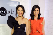 Lisa Edelstein One-Shoulder Top