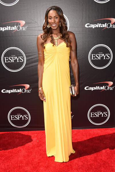 Lisa Leslie Strapless Dress