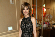 Lisa Rinna Halter Dress