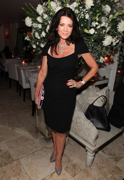 Lisa Vanderpump Little Black Dress