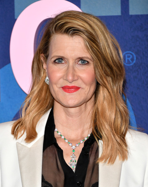 Laura Dern was stylishly coiffed with this wavy 'do at the premiere of 'Big Little Lies' season 2.