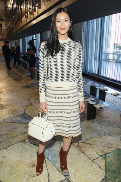 Liu Wen Knee Length Skirt