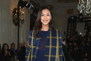 Liu Wen Printed Coat