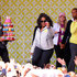 Oprah Winfrey Lookbook: Oprah Winfrey wearing Square Sunglasses (2 of 22). Oprah waved to fans wearing chic black sunglasses.