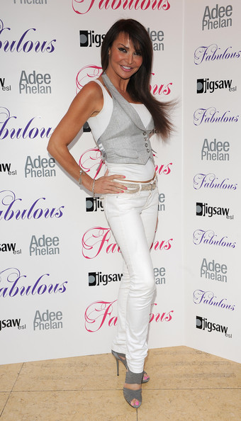 Lizzie Cundy Long Straight Cut with Bangs
