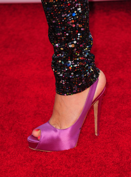 More Pics of Busy Philipps Peep Toe Pumps (1 of 6) - Busy Philipps Lookbook - StyleBistro