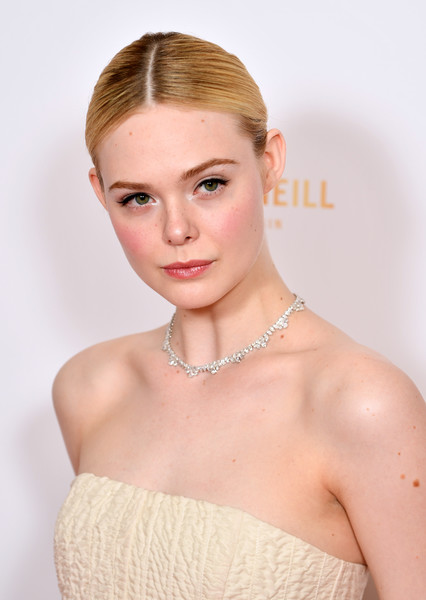 More Pics of Elle Fanning Evening Pumps (2 of 11) - Heels Lookbook - StyleBistro [hair,face,skin,hairstyle,eyebrow,beauty,lip,shoulder,chin,forehead,red carpet arrivals,elle fanning,london,england,the may fair hotel,london critics circle film awards,london critics circle film awards 2020,elle fanning,all the bright places,actor,london film critics circle,photograph,fanning sisters,image,film criticism,arclight cinemas]