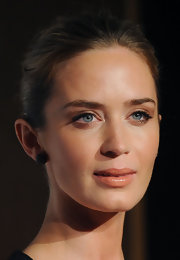Emily Blunt kept her look classic and chic with this sleek bun.