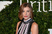 Agyness Deyn looked sweet with her subtly wavy bob at the 2016 London Evening Standard British Film Awards.