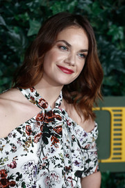Ruth Wilson sported shoulder-length waves at the London Evening Standard Theatre Awards.