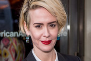 Sarah Paulson Short Side Part