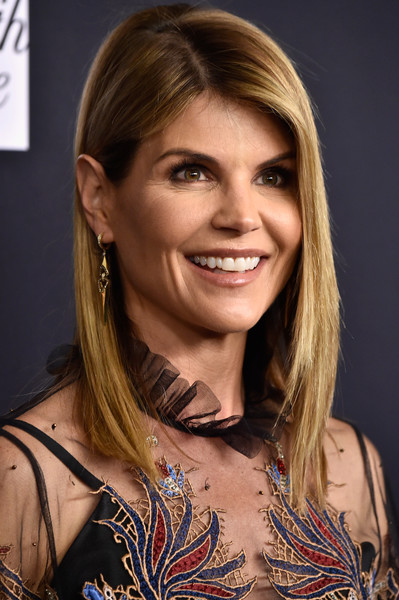 Lori Loughlin Asymmetrical Cut [beauty,human hair color,eyebrow,hairstyle,blond,smile,chin,long hair,brown hair,fashion model,arrivals,lori loughlin,beverly hills,california,beverly wilshire four seasons hotel,wcrf,an unforgettable evening]