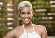 Sibley Scoles rocked a platinum-blonde fauxhawk at the Los Angeles Confidential Impact Awards.