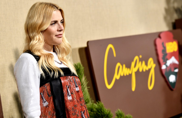 More Pics of Busy Philipps Pumps (1 of 3) - Busy Philipps Lookbook - StyleBistro [fashion,street fashion,brown hair,series,arrivals,busy philipps,camping,california,hollywood,los angeles premiere of hbo,paramount studios]