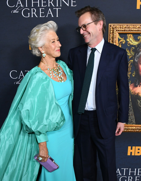 More Pics of Helen Mirren Gemstone Ring (1 of 32) - Gemstone Rings Lookbook - StyleBistro [formal wear,premiere,suit,carpet,event,flooring,tuxedo,red carpet,los angeles premiere of the new hbo limited series,hammer museum,los angeles,california,the billy wilder theater,catherine the great,philip martin,helen mirren]