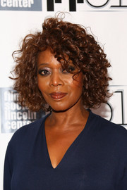 Alfre Woodard looked sassy with her short curls during the New York Film Festival.