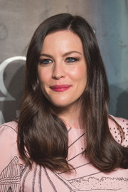 Liv Tyler looked demure with her gently wavy, side-parted hairstyle at the Lost in Space event.