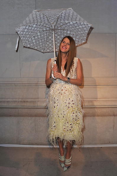 Anna dello Russo at Louis Vuitton - Marc Jacobs: The Exhibition