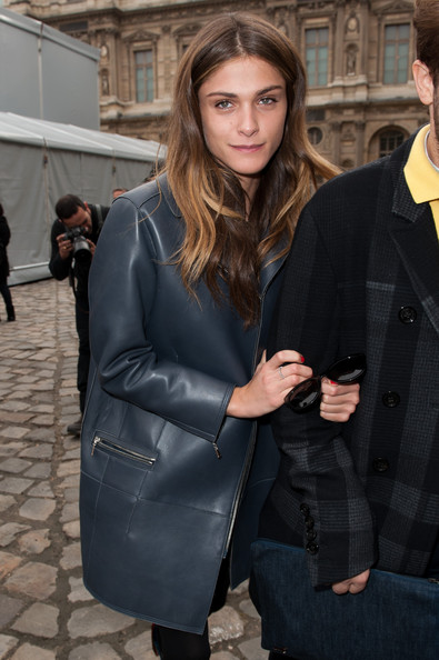 More Pics of Elisa Sednaoui Red Nail Polish (1 of 4) - Elisa Sednaoui Lookbook - StyleBistro